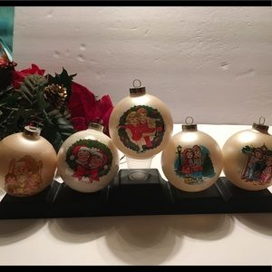 Campbell's Soup Ornament Bulb Set of 5